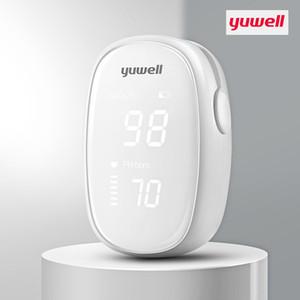 Оригинал Youpin Yuwell YX102 Цифровой Цифровой Пальмовой импульс Оксиметр Светодиодный Экран Уход за здоровью Высокоскоростной датчик Автоматическое отключение