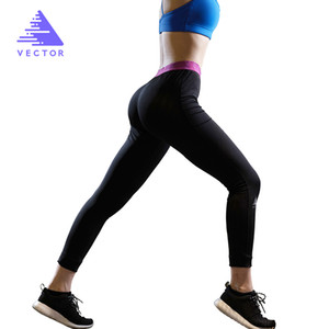 Vektor Yoga Sport Leggings für Frauen Männer Sport Tight Mesh Yoga Leggings Verständnis Yoga Hosen Frauen Laufstöße Frauen X1227