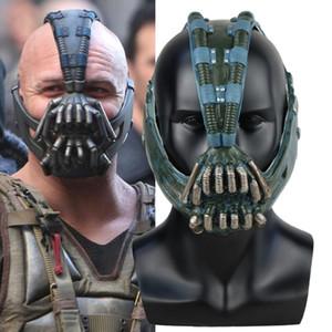 Bane Mask Batman Der dunkle Ritter Cosplay Superheld Latex Masken Helm Halloween Party Kostüm Requisiten
