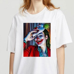 Graphic tees tops Clowns of different styles tshirts women funny t shirt O neck T shirt Vintage Vogue Ullzang Mujer T Shirt
