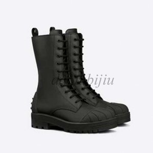 Designer Oblique Explorer Ankle boot for women Calfskin black Leanther Martin Boots Platform winter boots high top Sneakers KA3