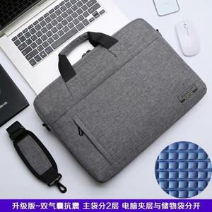 Laptop business shoulder bag 15.6 handbag for Apple 13-inch for macbook computer bag 14-inch briefcase