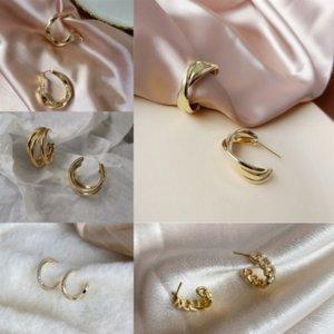 Juj Boucles d'oreilles Sterling Silver Cadeau Fahmi éblouissant Denier de luxe de luxe frais bijoux Femme Hoop Boucle d'oreille Casual Femmes Original