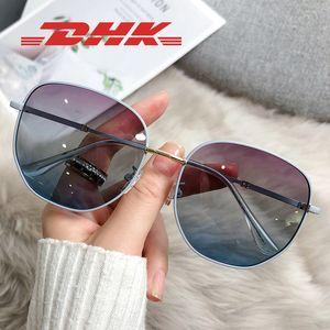 إمرأة سداسي نظارات شمسي أزياء نظارات رجالي نظارات الشمس نظارات بيضاوية عدسات مع حماية الأشعة فوق البنفسجية وحالة جلدية