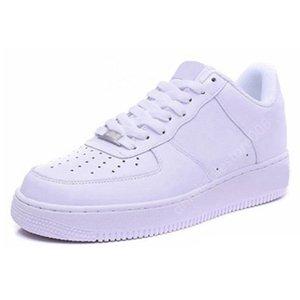 Nike Air Force one 1 Af1 des chaussures High Low Triple-Weiß, Schwarz, Braun Sandale Outdoor Sports Fashion Women Trainer Männer Turnschuhe