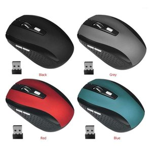 Wireless Mouse 2.4G USB Mute Silent Office Ultra-Thin Portable Office Desktop Notebook Rechargeable Mouse 6 Buttons 2000DPI Mice1