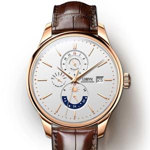 Lobinni أعلى بيع أذهال ميكانيكية ووتش الرجال relogio ماء فاخر أحدث الأعمال ساعة اليد erkek kol saati lj201211