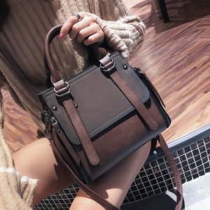 Leftside Vintage New Handtaschen für Frauen 2020 weibliche Marken-Leder-Handtaschen-Qualitäts Kleine Lady Schultertasche Lässige