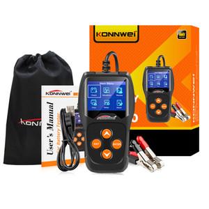 Testeur de batterie de voiture Konnwei KW600 12V 100 à 2000CCA 12 Volt Battery Analyzer pour la voiture Diagnostique de chargement rapide