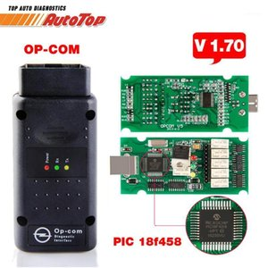 Best OP COM ODB 2 V1.70 OP COM V5 AutoScanner Opcom Pour le firmware V 1.70 avec PIC18F458 OP-COM pour OBD2 Scanner1