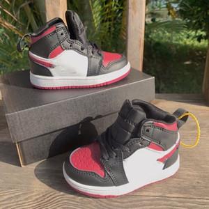 2020 TS 1s Cactus Jack sapatos crianças de basquete Travis Scotti alta OG 1 TS sneakers jam esportes ao ar livre Youth Júnior Crianças Trainers 22-37