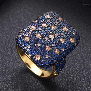 Janekelly Designer Luxus Twist Lines Geometrie Zironium Engagement Dubai Naija Braut Fingerringe Schmuck Sucht1