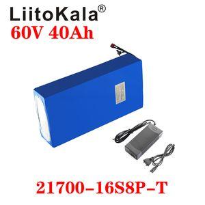 Liitokala 60V 40Ah 전기 스쿠터 Bateria 60V 40Ah 전기 자전거 리튬 배터리 스쿠터 60V 1000W Ebike 배터리