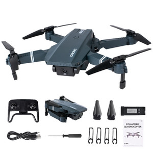 WIFI FPV Rc Drone With Camera HD 4K 1080P 720P Folding Drone Dron RC Quadcopter Altitude hold mode RC Helicopter Aircraft Toys 201208
