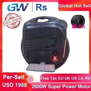 2020 Gotway RS 19inch RS19 Electric Моноцикл одно колесо monowheel 2600W 100V 1800Wh