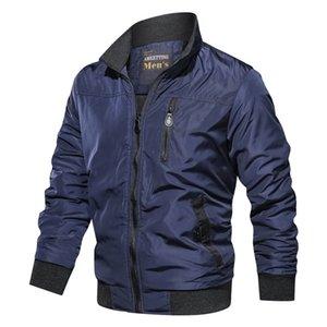 Men Military Training Jacket 2020 Mens Autumn Winter Fashion Windbreaker Bomber Jacket Coat Male Army Pilot Cargo Flight Outwear