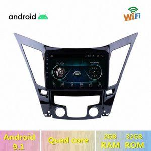 "9"" Android 9.1 Car Multimedia Player Stereo GPS Navigation for Sonata i40 i45 2011 2012 2013 2014 2015 2din Car Radio GXJF#"
