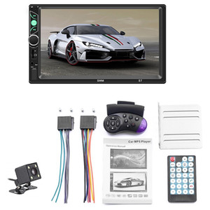 7 Inch Double Din Press Screen Car Stereo Upgrade the Latest Version Mp5 4 3 Player Fm Radio Video Support Backup Rear-View Came