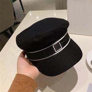 luxury hat women designer cap Original single duck tongue military cap Christmas present Fashion item Spring autumn winter accessories