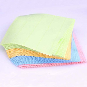 Hot Cleaning Tools Colorful Silver Polish Cloth For Silver Golden Jewelry Cleaner Phone Screen Camera Lens Glasses Square Cleaning Clothes