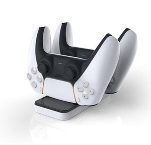 Newest Dual Charger Dock Mount Charging Stand For PS5 Gamepad Wireless Controller With Retail Box New Arrival