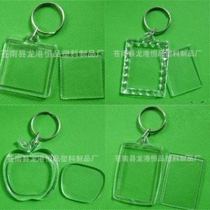 Fotos Chaveiros Acrílico Coração em forma de chaves Anel Eco Friendly Buckle Popular de alta qualidade com vários estilo 0 25HP J1