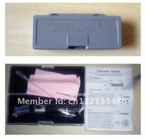 Wholesale-Beer Brewing Refractometer 1.000 ~ 1.120SG,0-32%Brix,popular for home brewer Iopw#