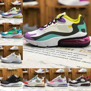 Safari React V2 Mens Running Shoes Cheap Air Parachute 27c Camo City Of Speed Oracle Aqua Bauhaus Metallic God 270 Women Outdoor Snea