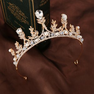 perno di capelli accessori di spettacolo pianoforte corona Bambini Cristallo fascia del copricapo di principessa Girl