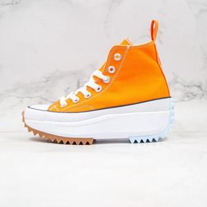 JW Anderson x Converse Run Star shoes 2021 حار بيع رفع رخيصة تصميم مرحبا أسود أبيض اللثة إمرأة schuhe الكلاسيكية عارضة الأحذية أندرسون تشاك تنزه حذاء مبركن size35-40