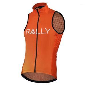 2020 Rally Pro Team 2 Цвета Летнее Короткий Жилет Без Рукавов ROPA Ciclismo Велоспорт Джерси Износ Размер XS-4XL1