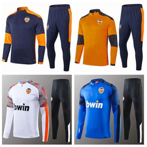 Nouvelle veste de formation Maillot football 2021 GAYA Valencia PAREJO Football Shirt GAMEIRO RODRIGO chandal Sudadera Entrenamiento Adulto Survêtement