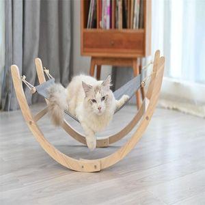 Pet rocking chair Cat hammock Small dog hanging basket swinging stage