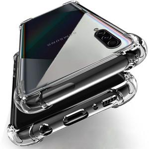 Caso à prova de choque de luxo para Samsung Galaxy A10 A20 A50 A50 A50 A70 A80 A90 A01 A51 A71 M10 M20 M30 M40 A20E A30