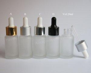 300pcs x 20ml Empty Frost Glass Dropper Bottle 2 3oz Frost Dropper Container 20ml Dropper Bottles