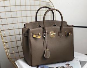 luxurys diseñadores cuero bolsa de embrague 2020 hebilla de plata nueva de las mujeres bolsos de la moda original de la marca de 30 cm Oro bolsas de cuero bolsos de hombro