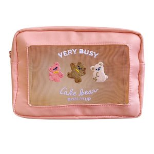 Korean cosmetic bag travel cosmetic storage cute girl large capacity cosmetic bag female portable fashion cosmetics lady