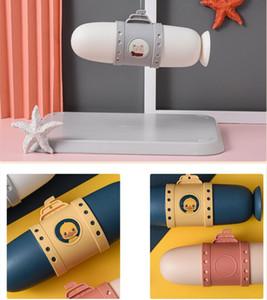 Scatole di denti sottomarini Scatole da viaggio Spazzolino da toothbrush Organizzazione Portatile Tazza di lavaggio portatile Cute Coppia Scatola Dente Set EWB2807