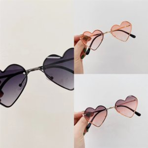 d6DaO Best 2021 New selling Candy Color Love Glasses fashion Mens Retrofor Glass Sunglasses Mirror Toad Glasses glasses moscot
