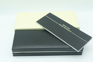 Hochwertiger schwarzer Holzrahmen-Stiftkasten für Füllfederhalter / Kugelschreiber / Rollkugelschreiber Bleistiftkoffer mit der Garantiehandbuch