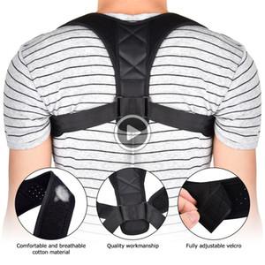 UF29 Volver correa de soporte corrector de la postura de apoyo posterior del corsé del hombro Corrección Bras Spine Health Care escoliosis Postura