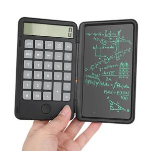 Калькуляторная доска почерка 6,0 дюйма написание планшета портативный умный ЖК-дисплей для графики доска для рисования планшета безбумажным с перезаряженным