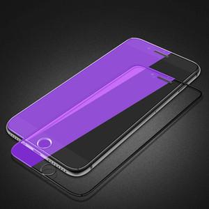 Temperli cam iphone 11 pro max se 2020 mor ışık ekran koruyucu iphone 5 5 s 6 6 s 7 8 artı x xr xs max cam filmi