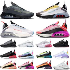 cuscini puri platino 2090s piattaforma mens scarpe da corsa lupo grigio fuoco rosa fotone polvere 2090s uomini donne formatori scarpe da ginnastica sportive