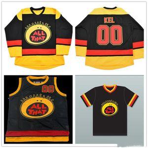 Все, что KEL Mitchell Hockey Jersey Movie Basketball Jerseys Movie Baseball Jerseys Вышитые имена и цифры