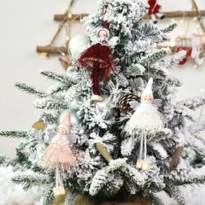 Рождество ручной Безликие куклы НИССЕ Санта Nisse Nordic Плюшевые игрушки Elf Таблица Украшение Xmas Tree украшения