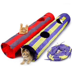 Головоломки Pet Toys складной канал Cat игрушка Pet Tunnel Cat Play Tunne складной1