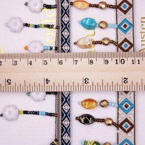 1 yards lot püskül saçak trim kumaş püsküller fringe dantel süslemeleri perdeleri dekorasyon için püsküller ile DIY dikiş aksesuarları H jllmrp