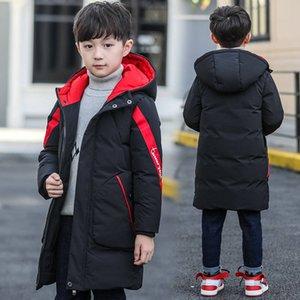 -30 Graus 2020 Children Parka Roupa de Menina Rússia Casaco de Inverno Kids Outerwear Quente Com Capuz Algodão Casaco Meninos Roupas Snowsuit LJ201125