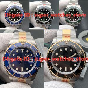 N-V11 montre de luxe 126610LN mens watches 41mm 3235 movement 904L fine steel case Sapphire luminous stone